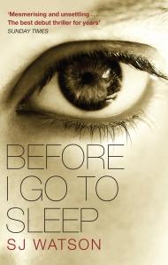 BEFORE I GO TO SLEEP pb